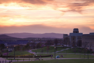 6. Watch a Sunset from ISAT and then Stargaze on the Quad