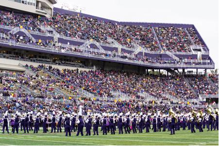 15. Attend a home game and watch the Marching Royal Dukes perform at halftime.