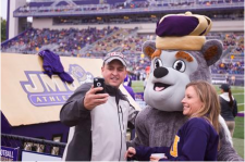 11. Take a Selfie with the Duke Dog