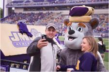 11. Take a Selfie with the Duke Dog
