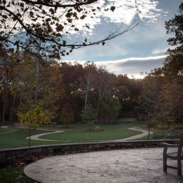 Bench at Arboretum at JMU