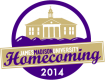 This is the JMU homecoming 2014 logo.