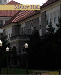 Maury Hall Built in 1909