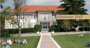 Alumnae Hall Built in 1922