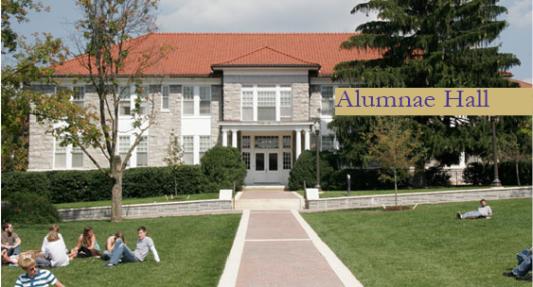 Alumnae Hall Built in 1922