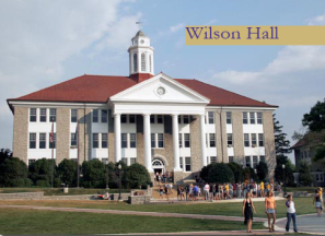 Wilson Hall Built in 1931