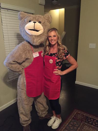 JMU students dressed in Ted and Tammy Lynn costumes