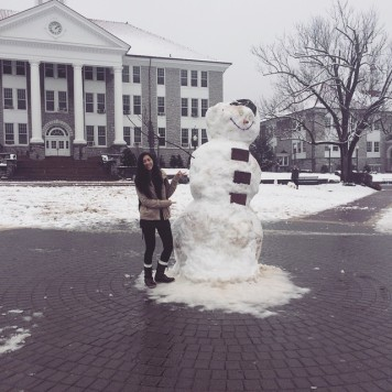 Quad Snow Man