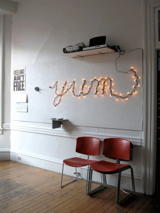 Make Words With Lights