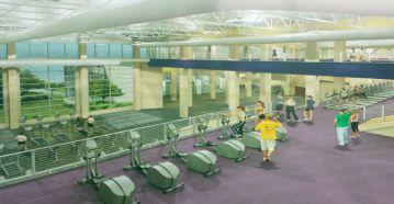 Inside Gym