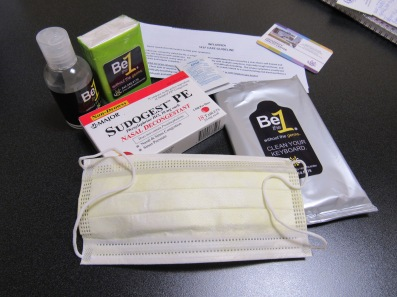 Flu prevention kit