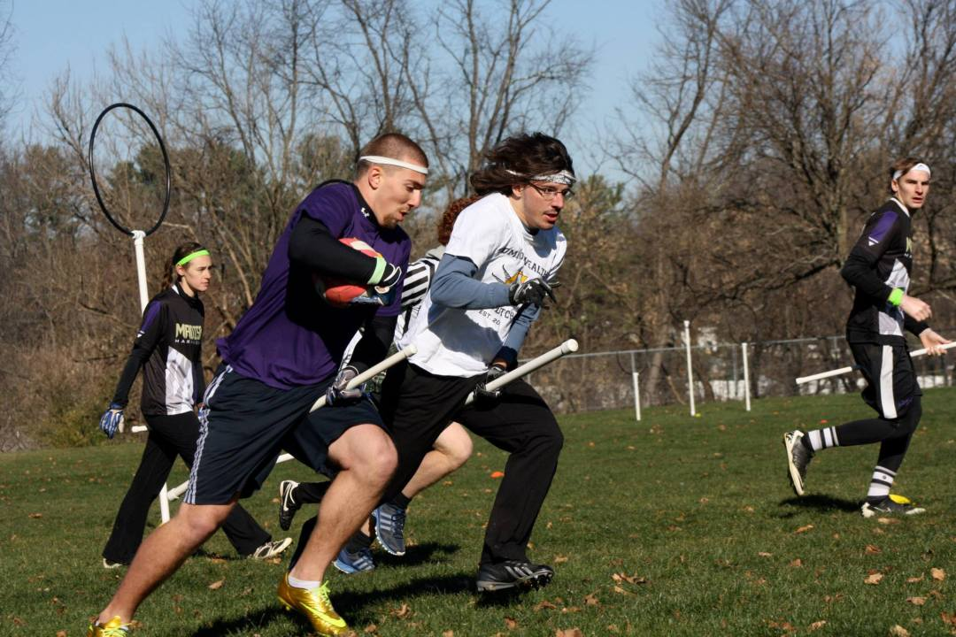 Quidditch Players with Headbands