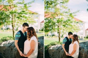 Kissing Rock Couple