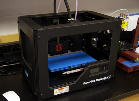 The 3SPACE also features a MakerBot Replicator 2