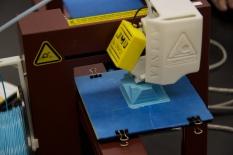 Mara's model is being printed.