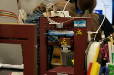 The AFINIA printers are able to print models up to about 5 inches tall and 5 inches wide.