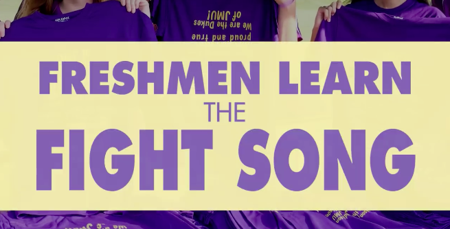 Freshman Learn the Fight Song