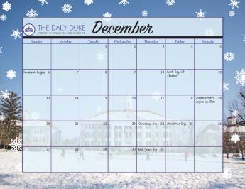 All calendars designed by Wren Snyder.