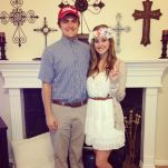Forrest Gump and Jenny Costumes - Image from Pinterest