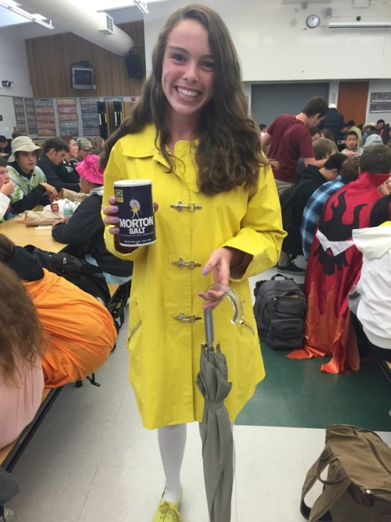 Morton Salt Girl Costume - Image from The Mirador Online