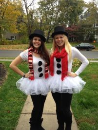 Snowman Costumes - Image from Pinterest