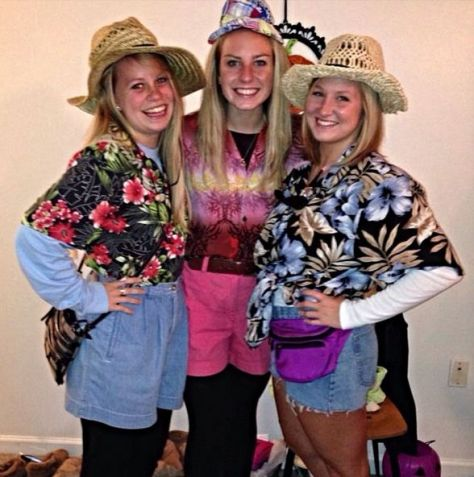 Tacky Tourist Costumes - Image from Pinterest