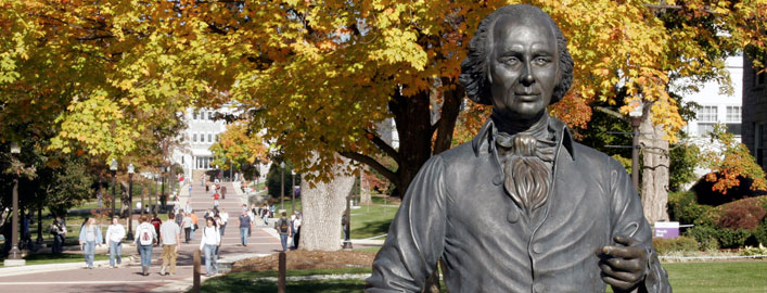 madison-statue-in-fall