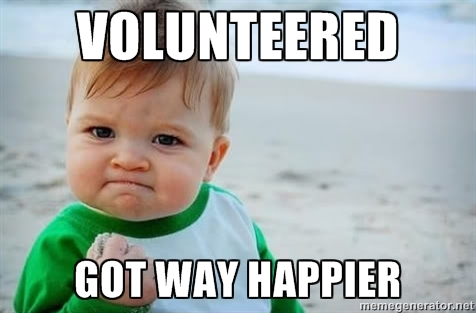 volunteerhappy