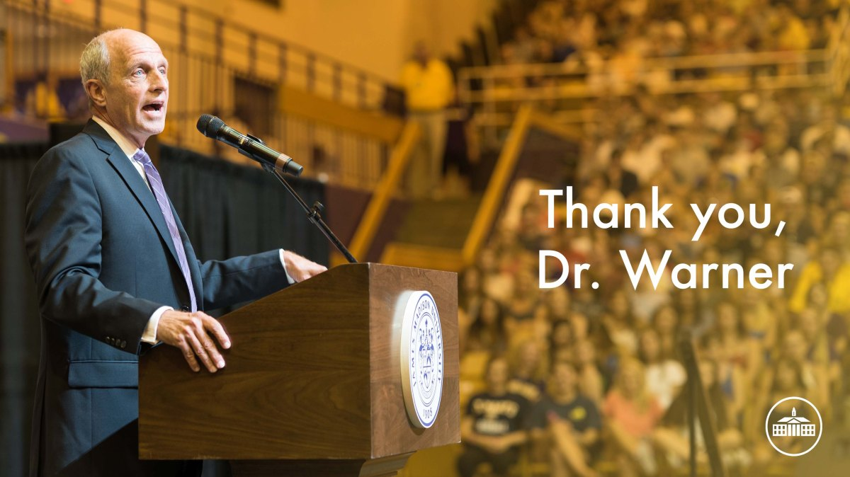 Thank You, Dr. Warner [Video]