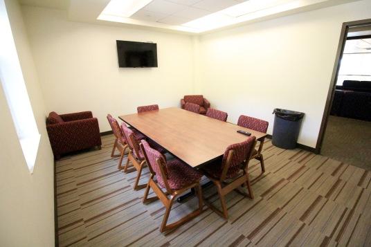Each floor has multiple study lounges.