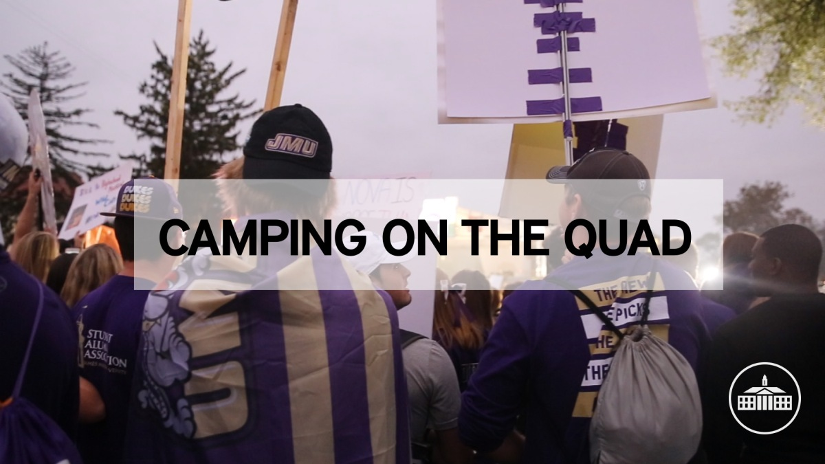 Camping on the Quad: GameDay's Most Dedicated Dukes [VIDEO]
