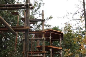 High ropes elements.