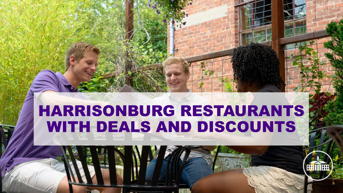 Harrisonburg Restaurants with Deals and Discounts